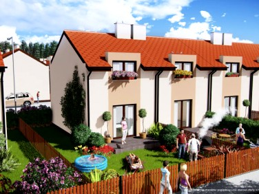 Domy szeregowe z ogrodem