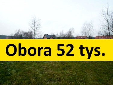 Działka budowlana Obora