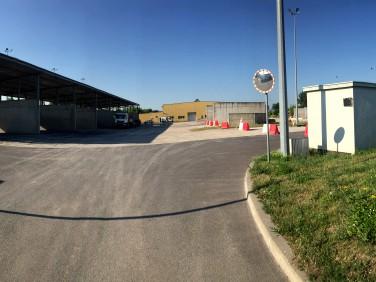 Działka przemysłowa Nowy