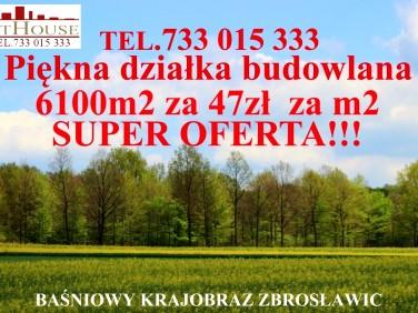 Działka budowlana Zbrosławice