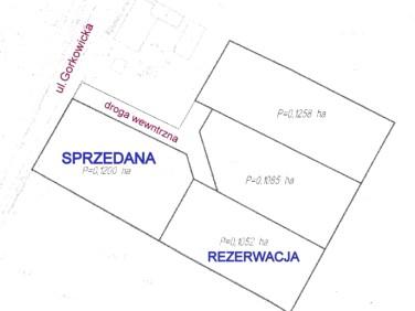 Działka budowlana Prusice