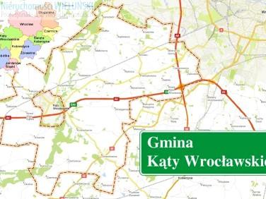 Działka budowlano-rolna Kąty Wrocławskie sprzedam