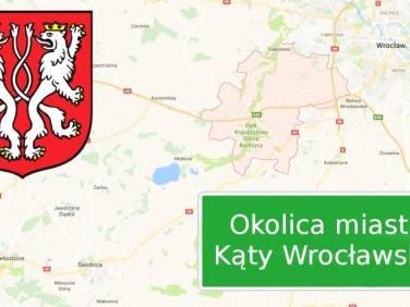 Działka usługowa Kąty Wrocławskie
