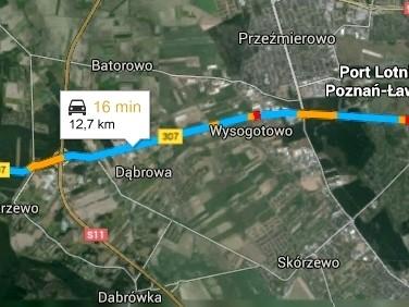 Działka budowlana Sierosław