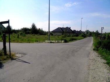 Działka budowlana Nowa Wieś Wrocławska
