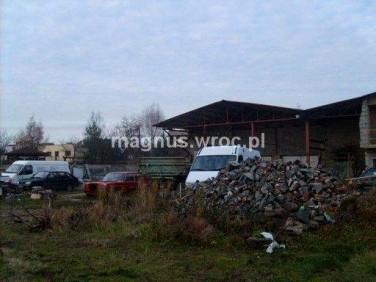 Działka przemysłowa Żerniki Wrocławskie