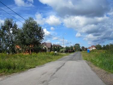 Działka budowlana Borzęcin Duży