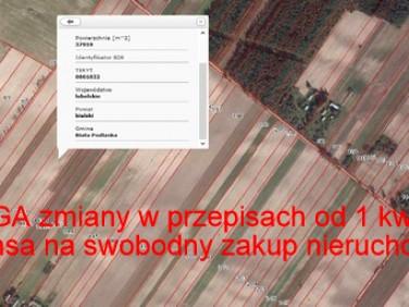 Działka rolna Biała Podlaska