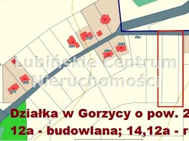Działka budowlano-rolna Gorzyca