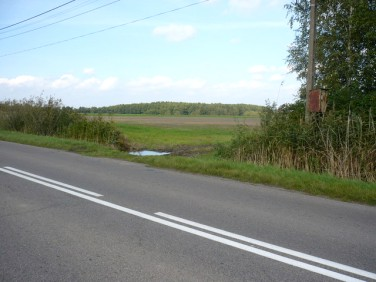 Działka rolna Banie