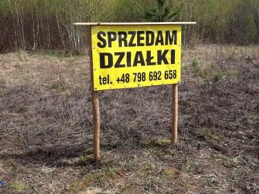 Działka budowlana Ostróda