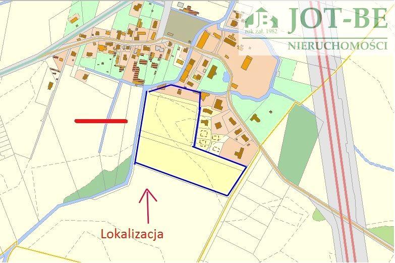 Działka budowlana Cesarzowice
