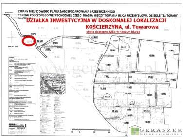 Działka inwestycyjna Kościerzyna