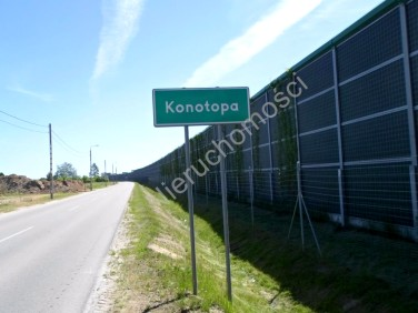 Działka przemysłowa Konotopa