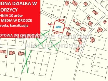 Działka budowlana Gorzyca