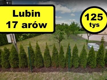 Działka budowlana Lubin sprzedam