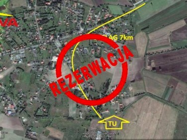 Działka budowlana Jegłownik
