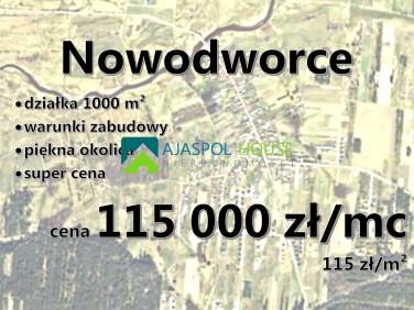 Działka Nowodworce