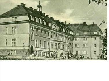 Budynek użytkowy Branice