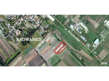 Działka usługowa Radwanice