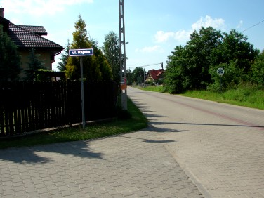 Działka budowlana Rajszew