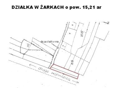 Działka rolna Żarki