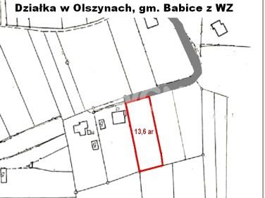 Działka budowlana Olszyny
