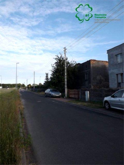 Zabudowana działka Poznań