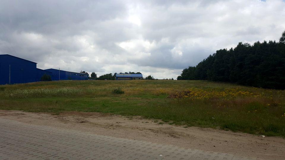 Działka przemysłowa Chwaszczyno