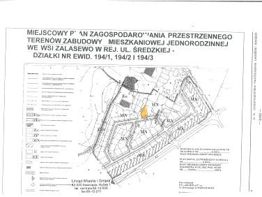 Działka budowlana Zalasewo