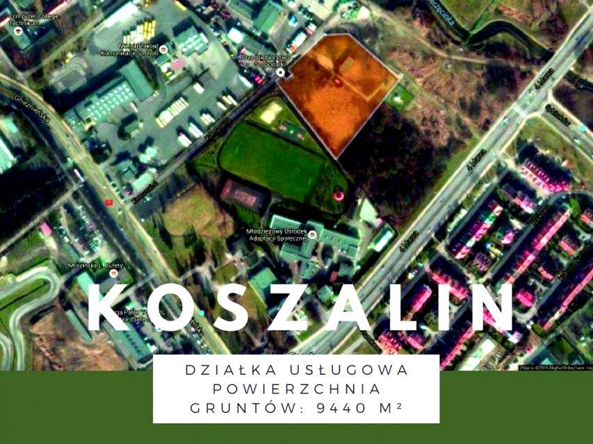 Działka usługowa Koszalin