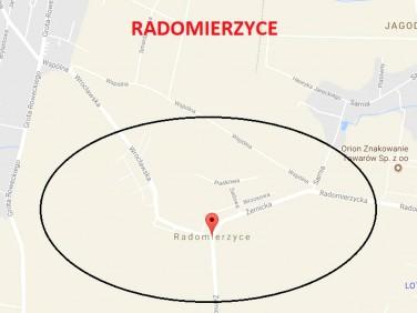 Działka budowlana Radomierzyce