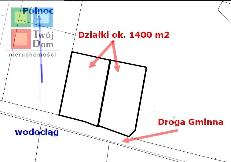Działka budowlana Niekłonice