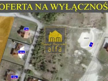 Zabudowana działka Nowa Wieś