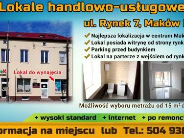 Lokal Maków Mazowiecki