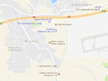 Działka inwestycyjna Morawica