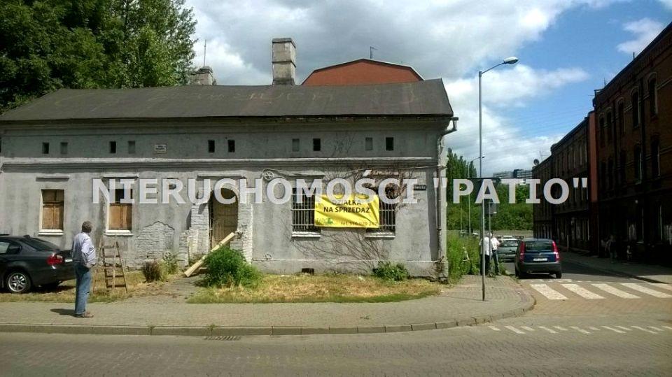 Zabudowana działka Katowice