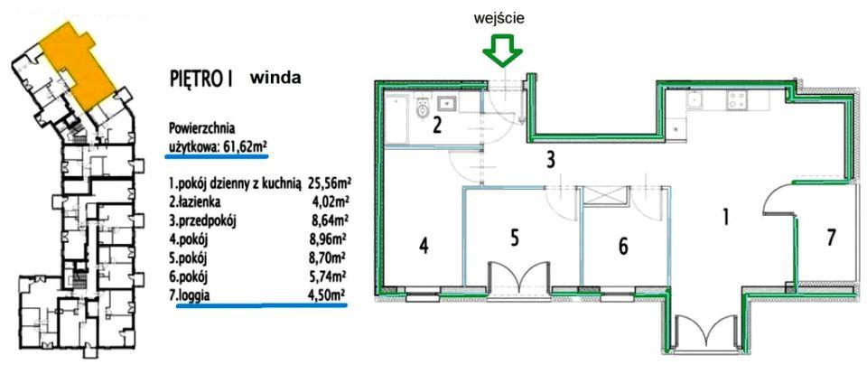 Mieszkanie Siechnice