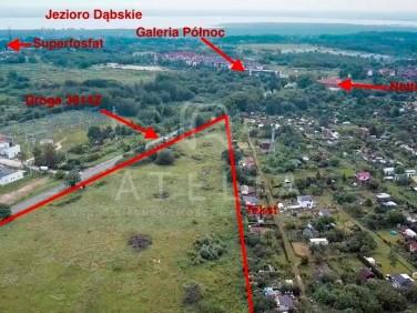 Działka usługowa Szczecin