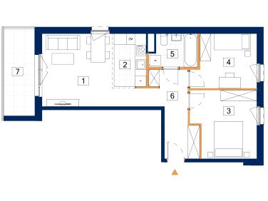 Mieszkanie Zegrze