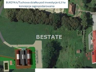 Pusta działka Tuchów