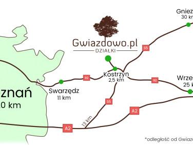 Pusta działka Poznań