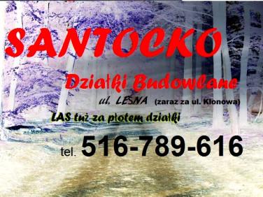 Działka budowlana Santocko sprzedam