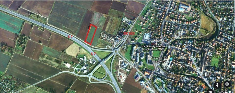 Działka inwestycyjna Nowy Dwór Gdański