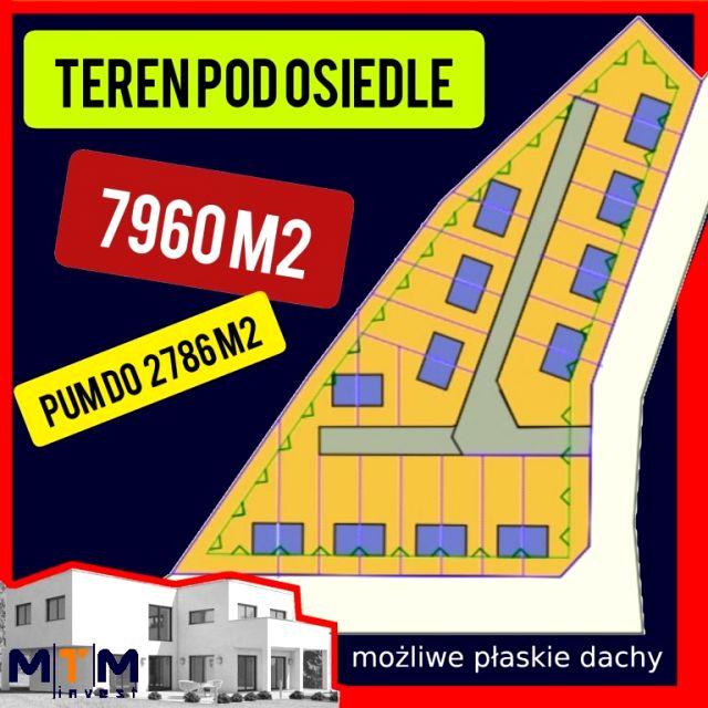 Działka inwestycyjna Szczecin
