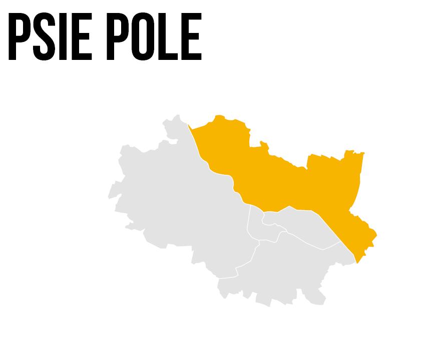 psie pole we Wrocławiu