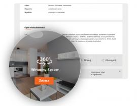 Wirtualna wizyta w nieruchomości. Jak prezentujemy ją w portalu?