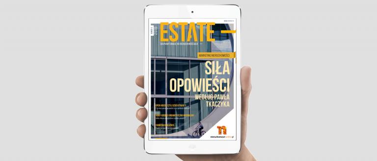 Okładka magazynu ESTATE 3/2016