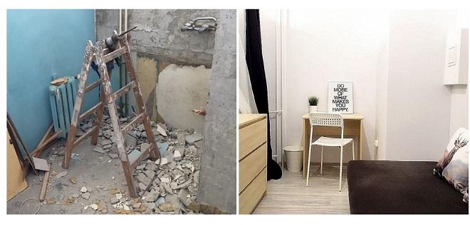 Przykład adaptacji kuchni na pokój fot. Paweł Albrecht