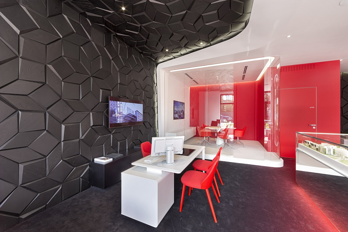 Biuro sprzedaży PROFBUD - Robert Majkut Design